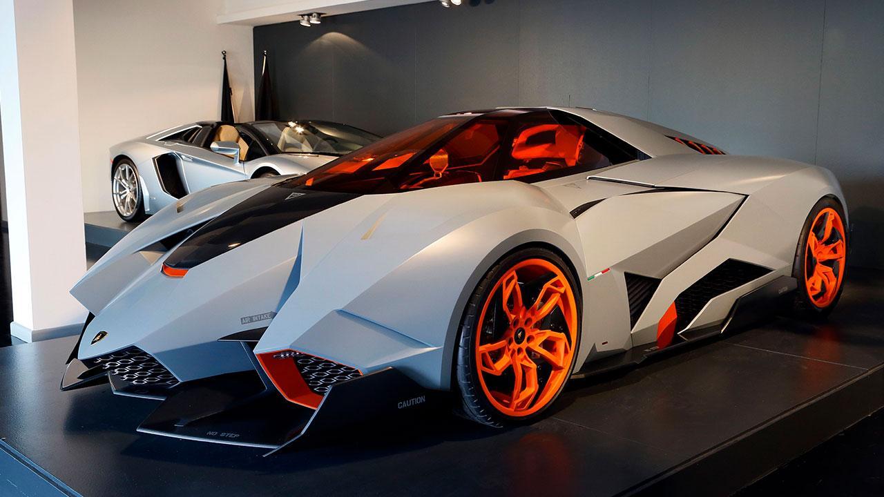 Lamborghini Egoista - im Museum