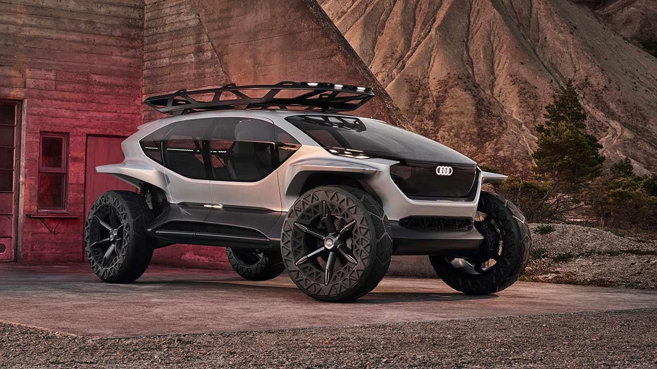 Audi AI:Trail quattro - in der Wüste