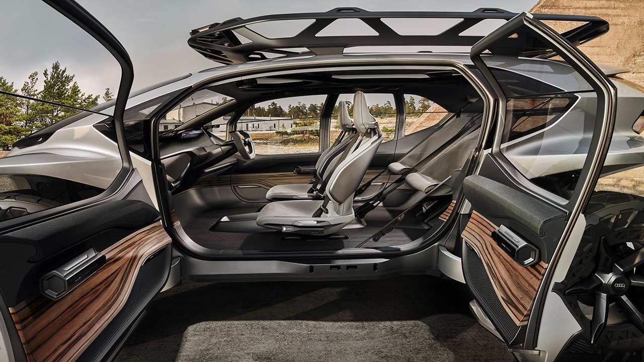 Audi AI:Trail quattro - offene Türen