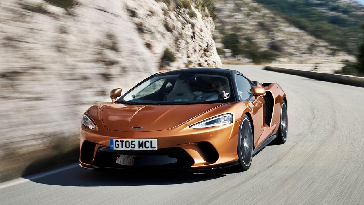 McLaren New GT - auf der Bergstraße