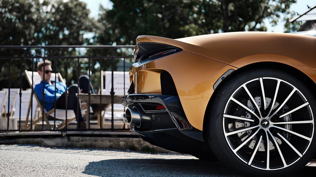 McLaren New GT - Heck