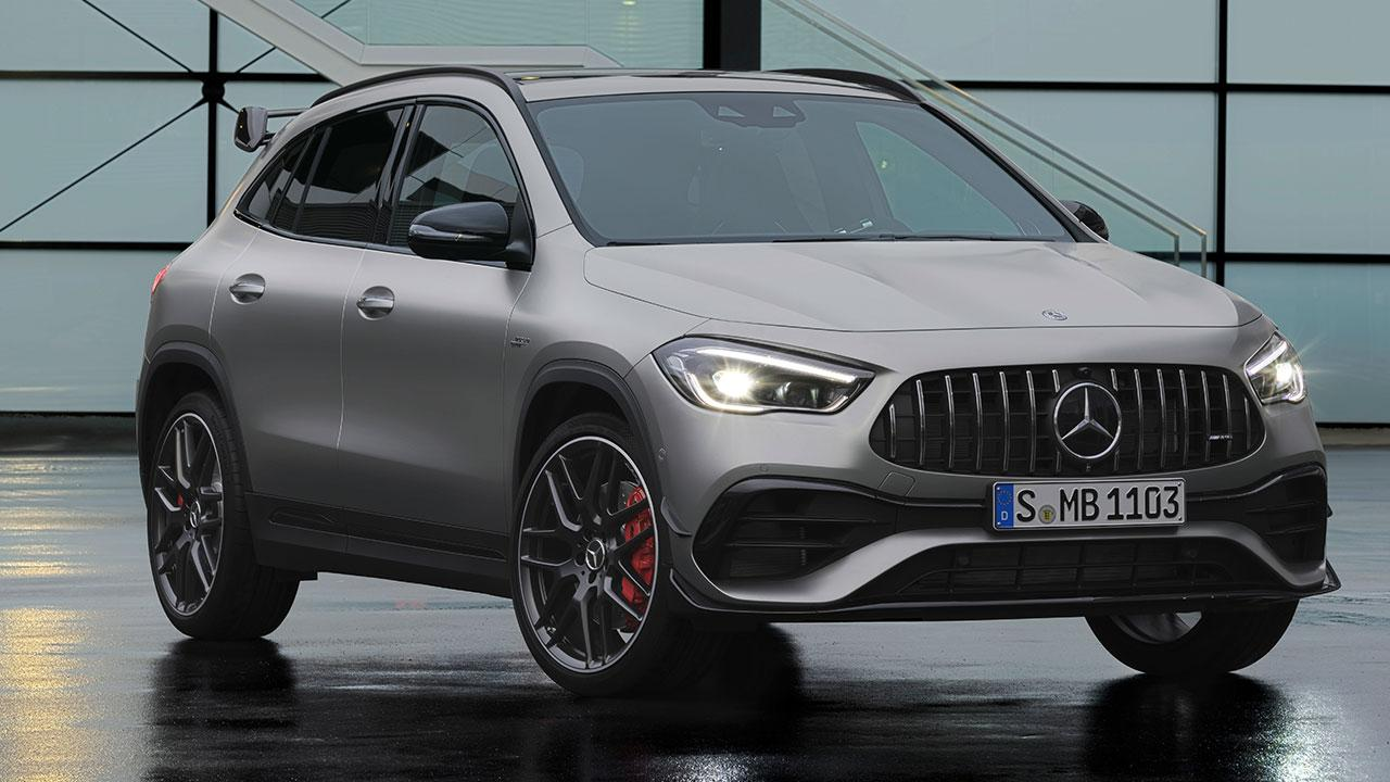 Mercedes-AMG GLA45 S 4MATIC - Frontansicht
