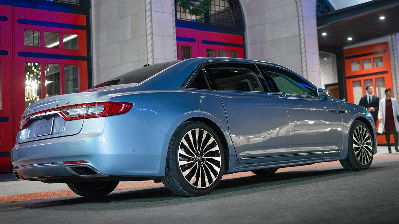 Lincoln Continental 80th Anniversary - Heckansicht