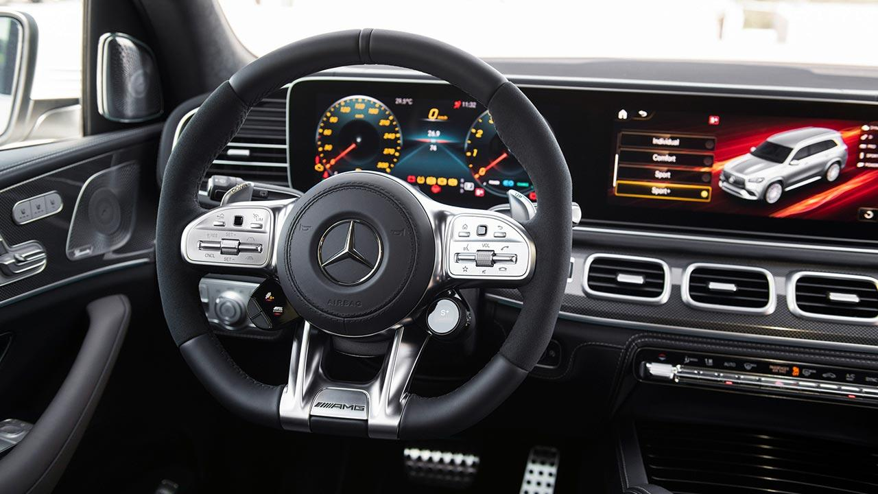 Mercedes-AMG GLS 63 4MATIC+ - Cockpit