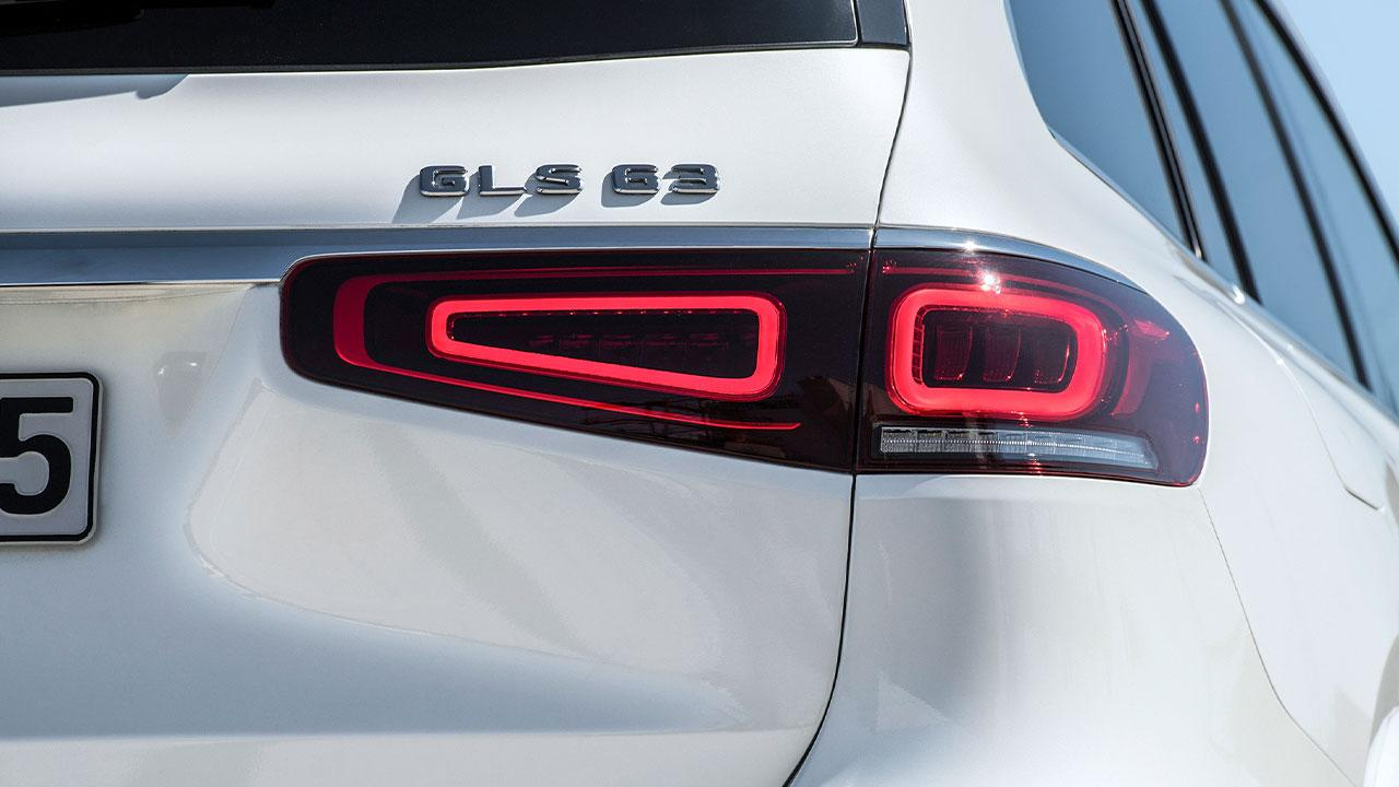 © Daimler AGMercedes-AMG GLS 63 4MATIC+ - Rücklicht