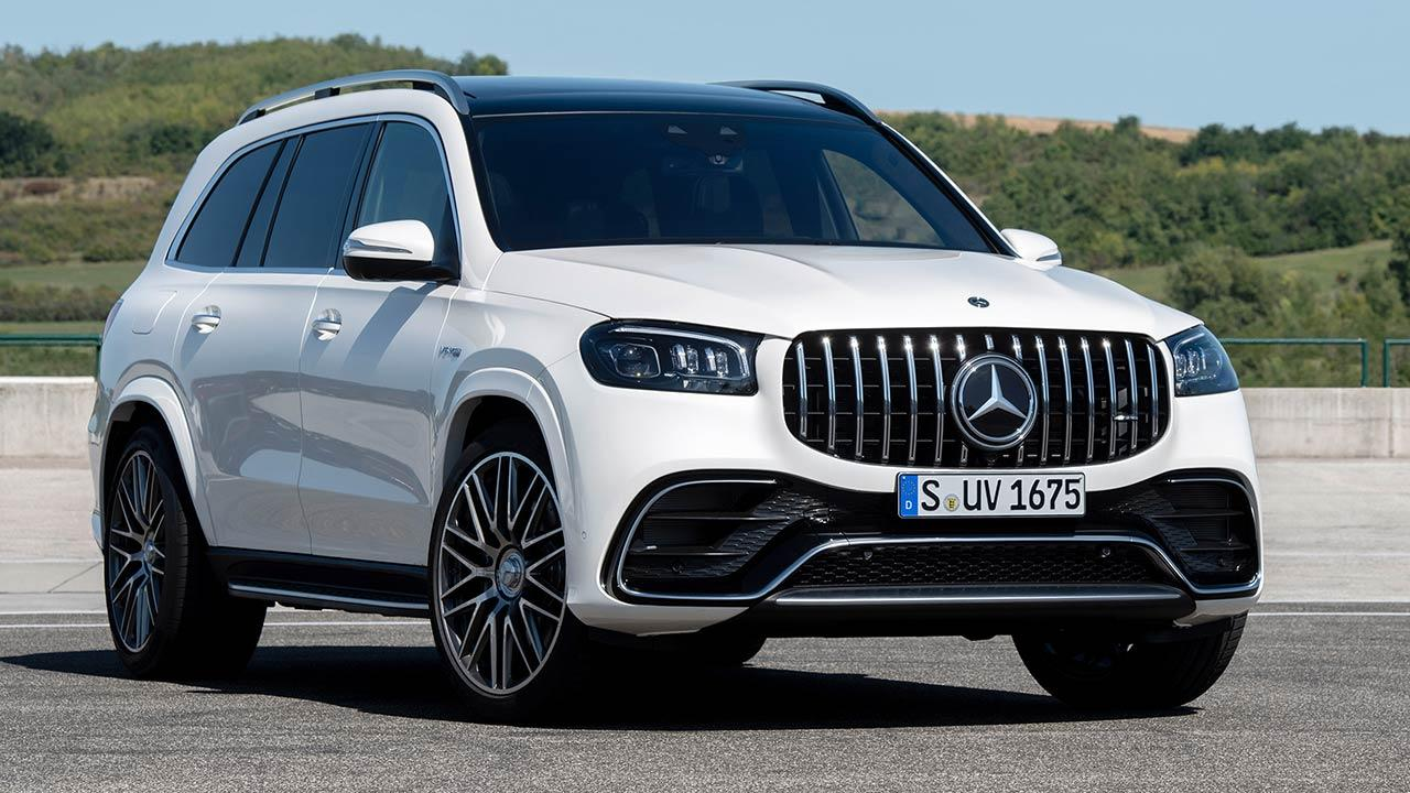 Mercedes-AMG GLS 63 4MATIC+ - Frontansicht