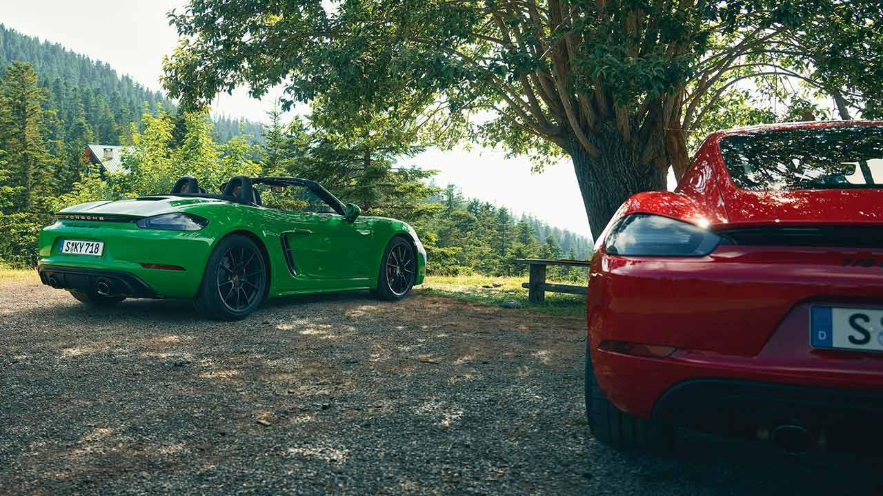 Porsche 718 Boxster GTS 4.0 - 2 Farben