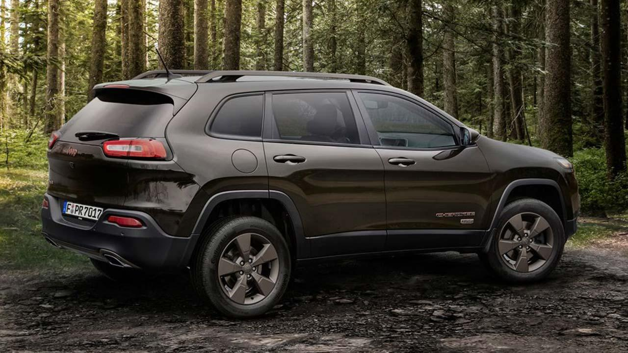 Jeep Cherokee - Seitenansicht