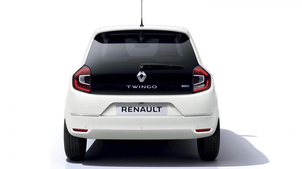 Renault Twingo Z.E. - Heckansicht