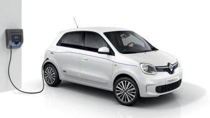 Renault Twingo Z.E. - an der Ladestation
