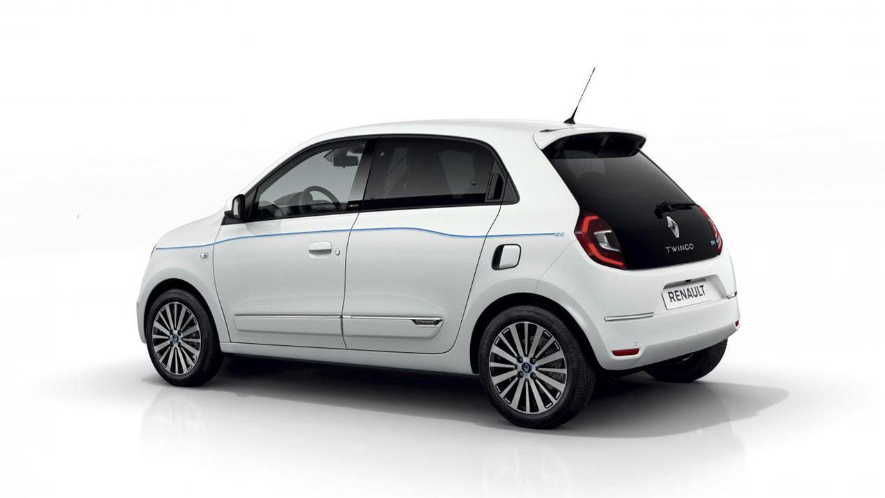 Renault Twingo Z.E. - in weiss