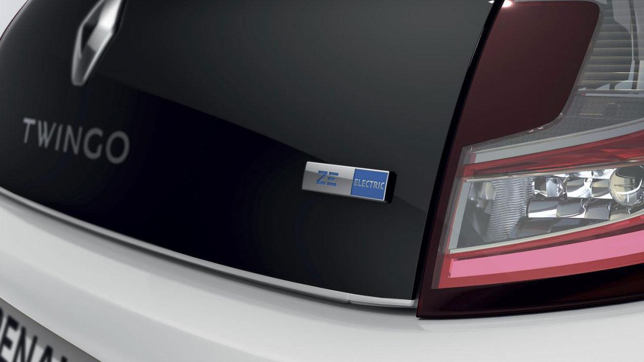 Renault Twingo Z.E. - Schriftzug