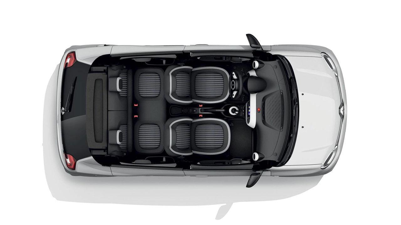 Renault Twingo Z.E. - Innenraum Darstellung