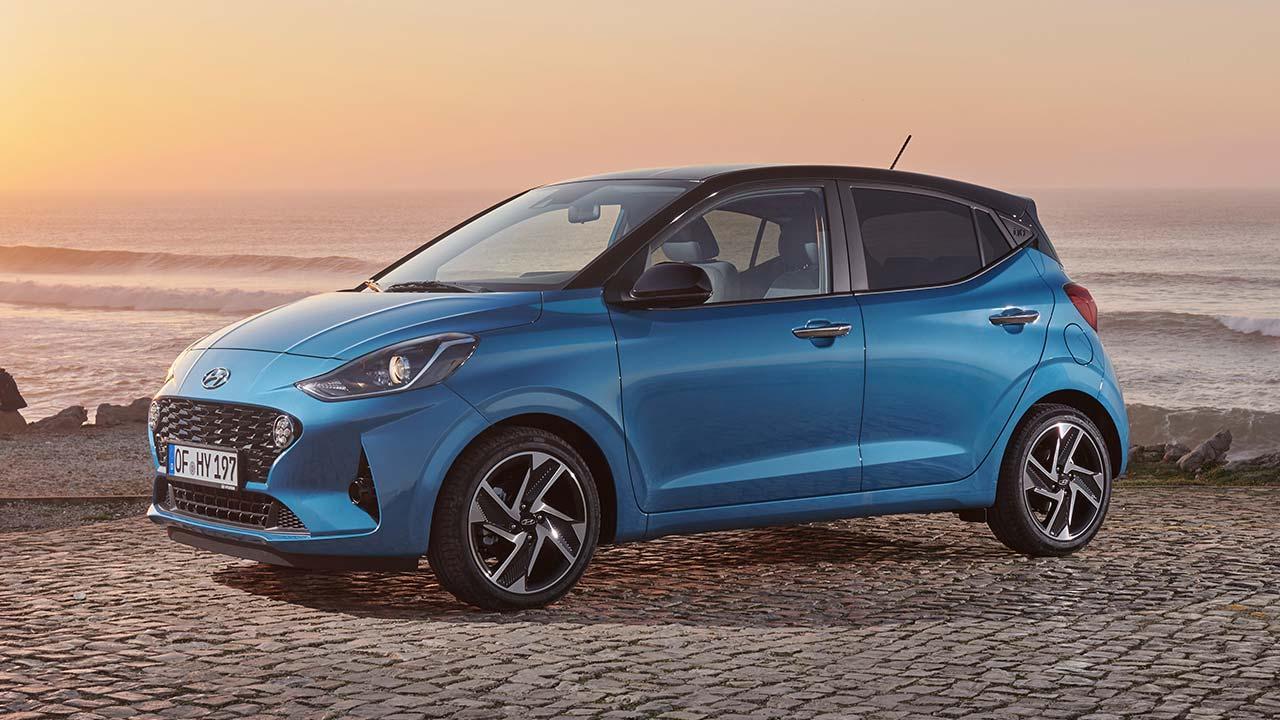 Hyundai i10 - am Meer