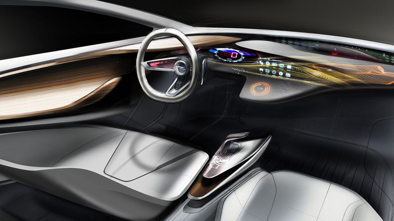 Opel Monza Concept - Cockpit