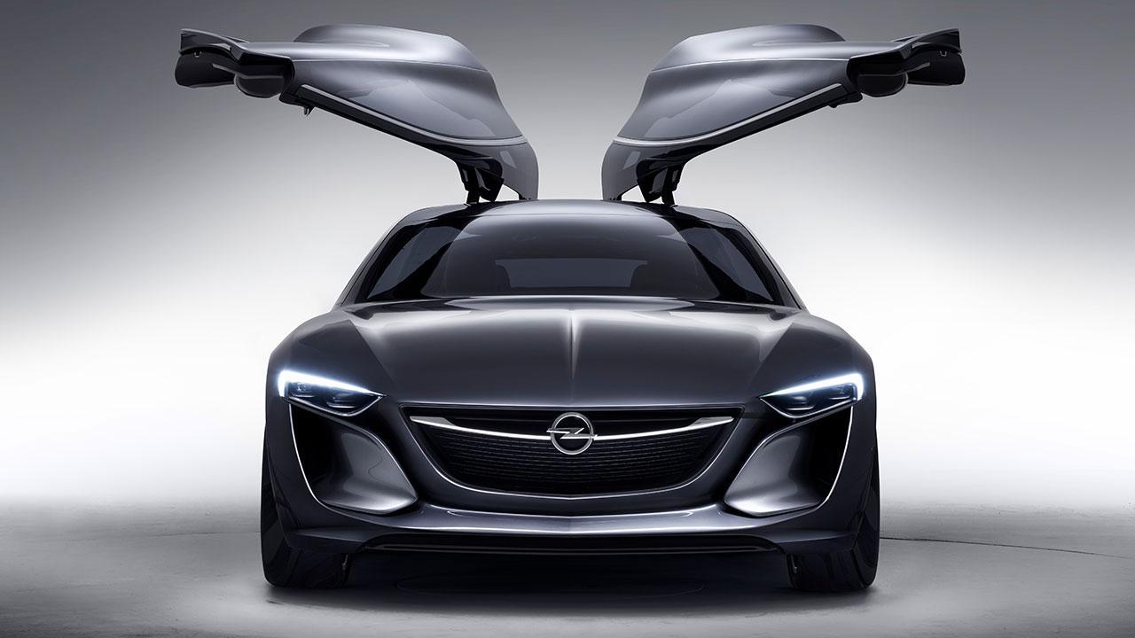 Opel Monza Concept - mit offenen Flügeltüren