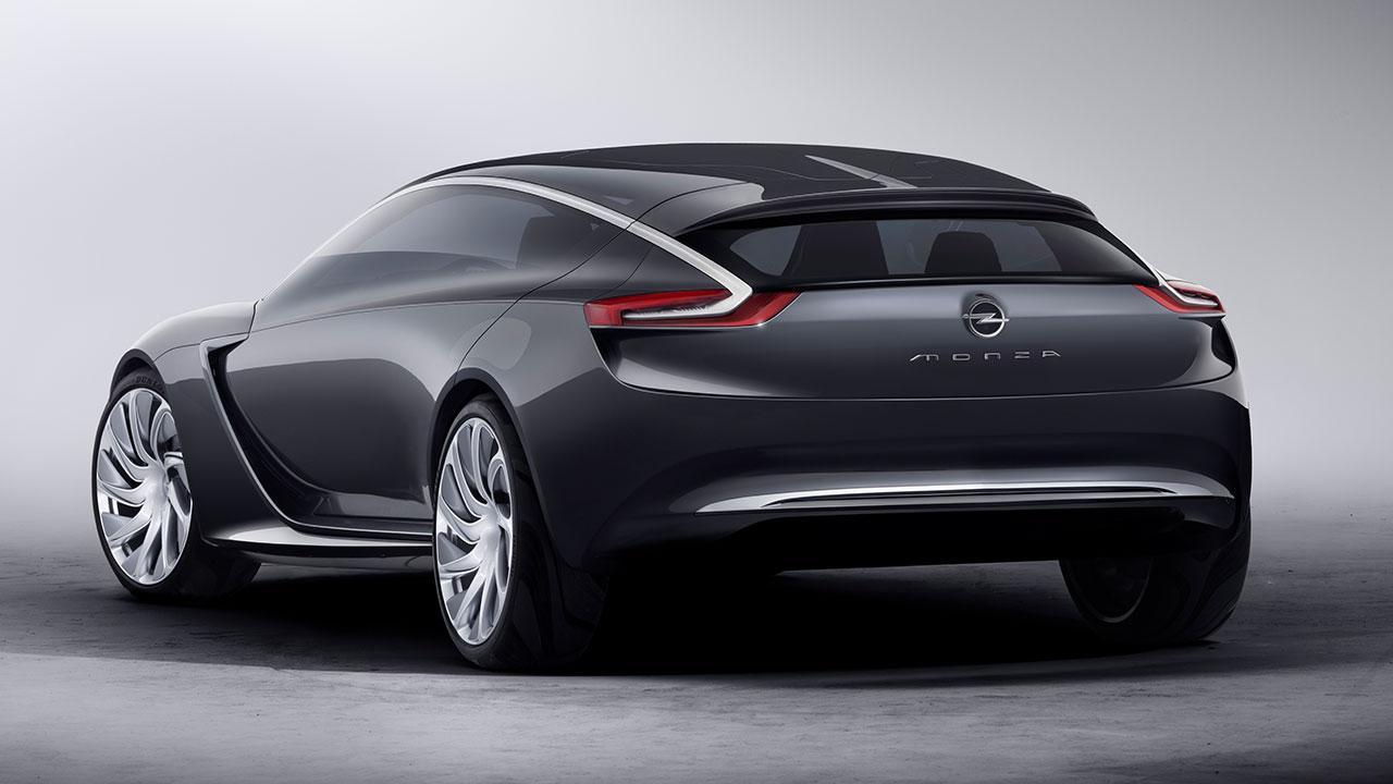 Opel Monza Concept - Heckansicht