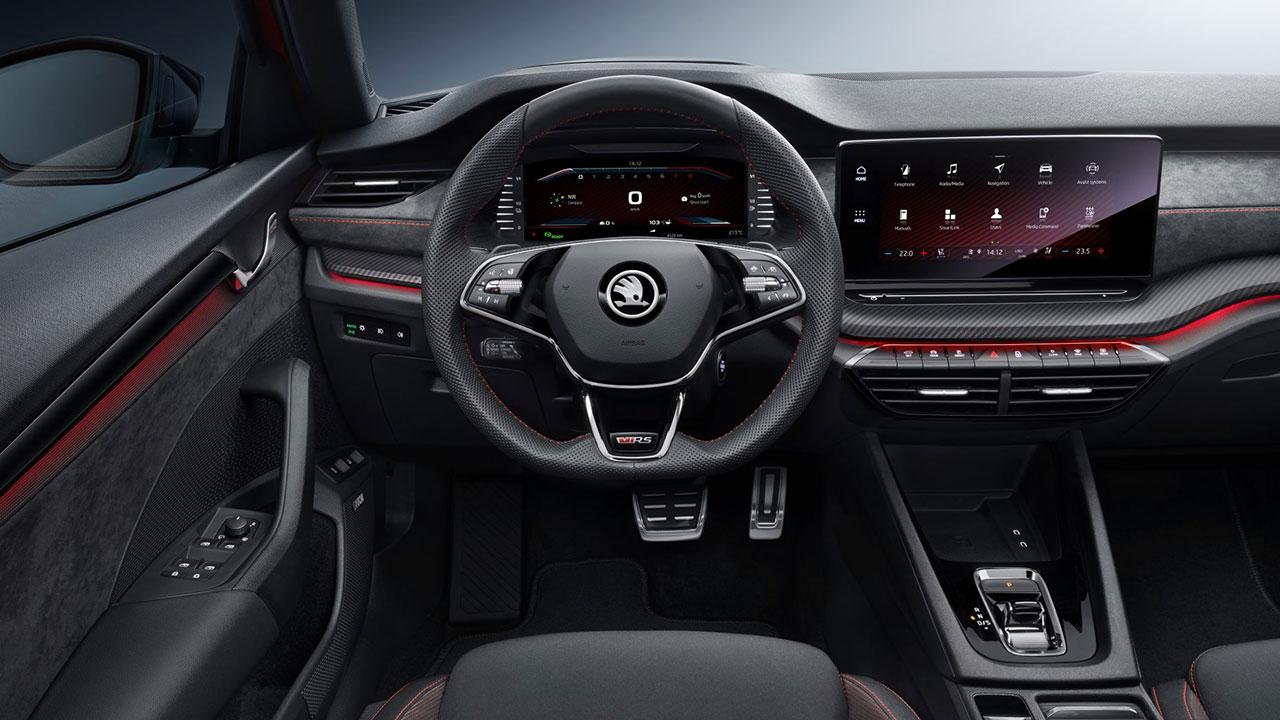 Skoda OCTAVIA RS iV - Cockpit