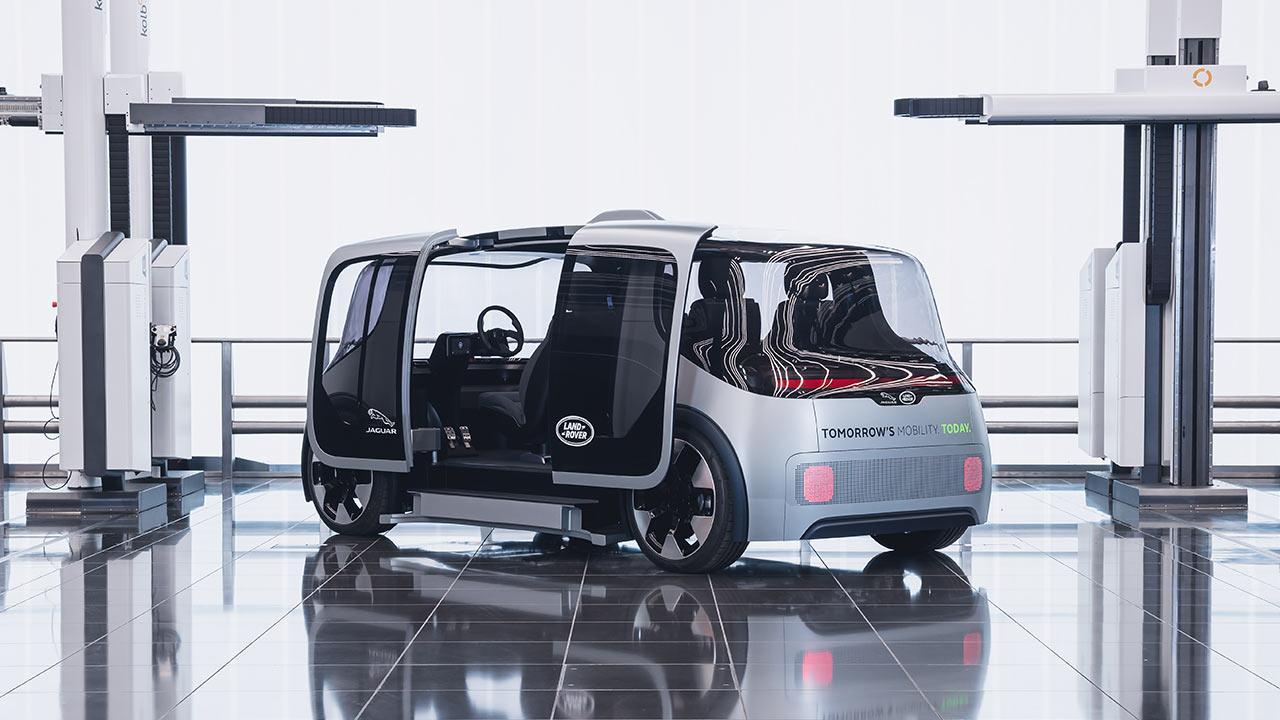 Jaguar & Land Rover Project Vector - mit offenen Türen