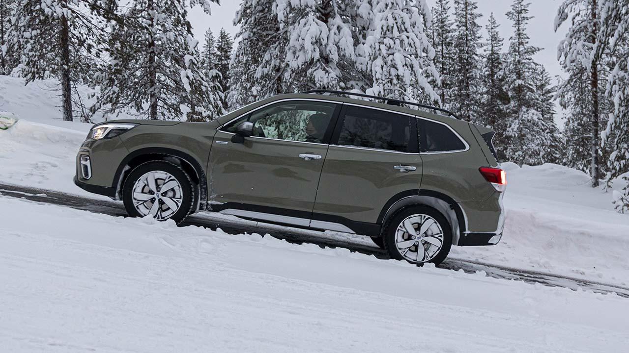 Subaru Forester e-BOXER - Bergauf