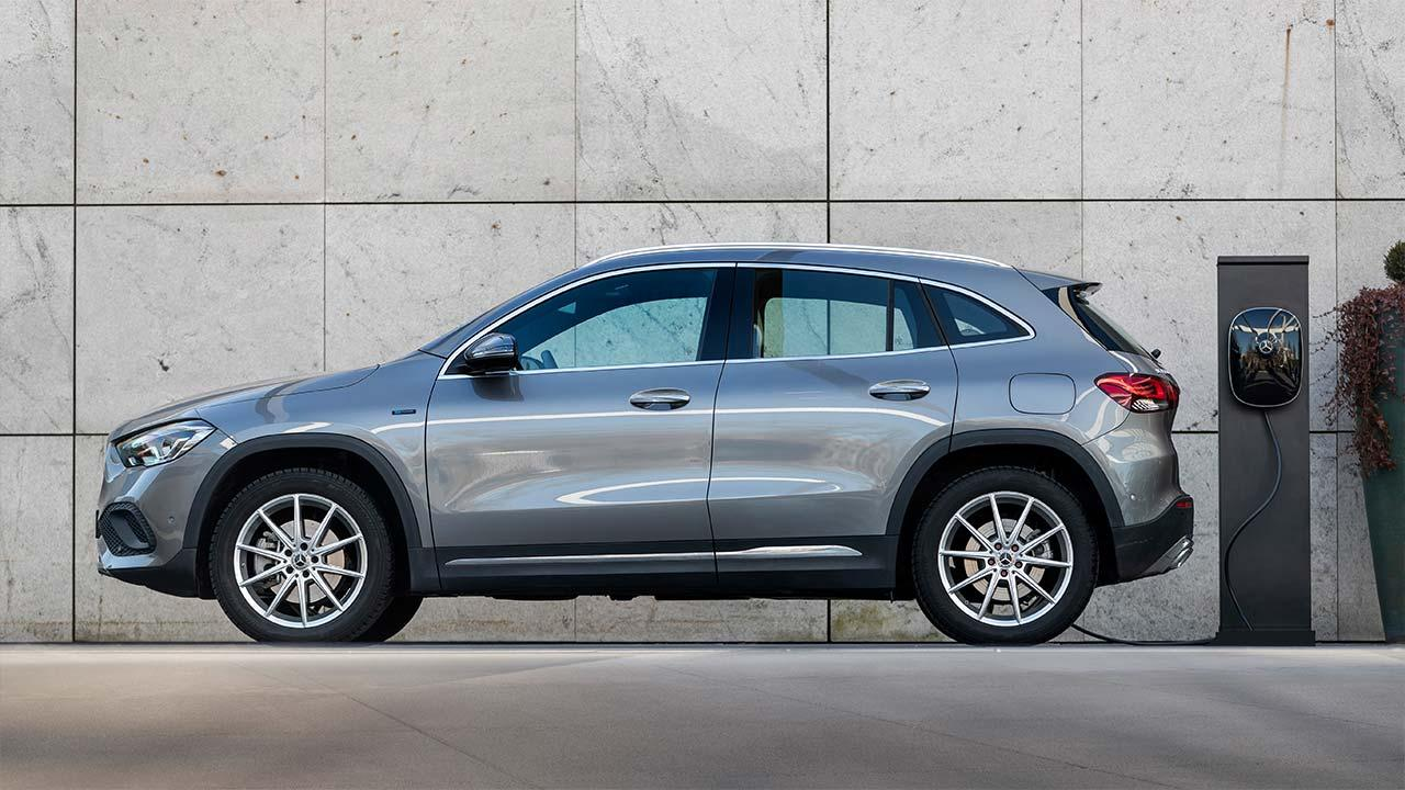 Mercedes-Benz Plug-in-Hybridmodelle mit EQ Power - SUV