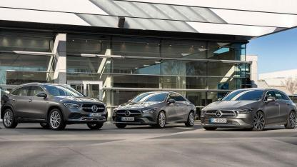 Mercedes-Benz Plug-in-Hybridmodelle mit EQ Power