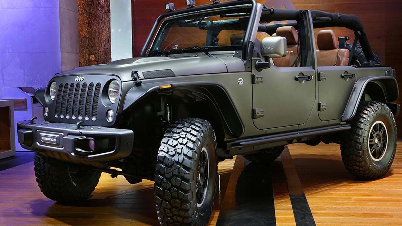 Jeep Wrangler - im Tarnlook