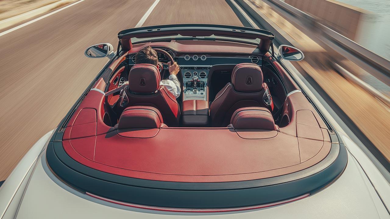 Bentley Continental GT Convertible W12 - Blick von oben