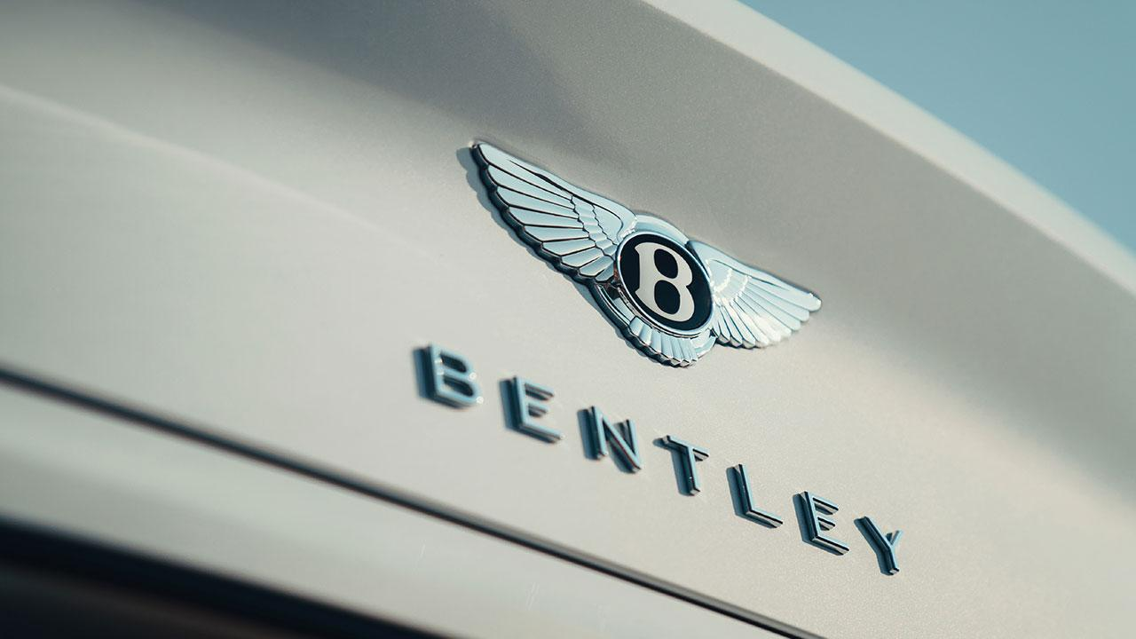 Bentley Continental GT Convertible W12 - Logo und Schriftzug