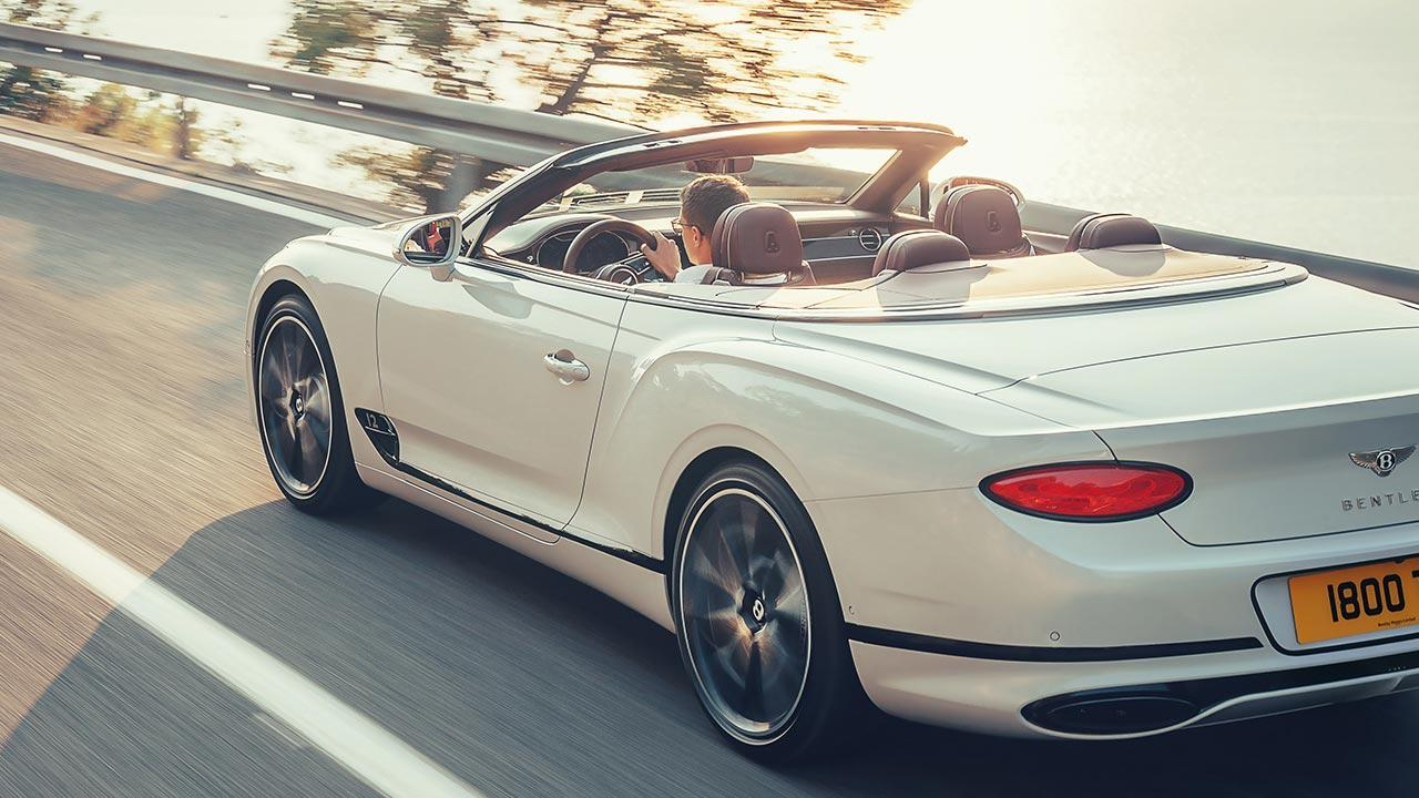 Bentley Continental GT Convertible W12 - Heckansicht