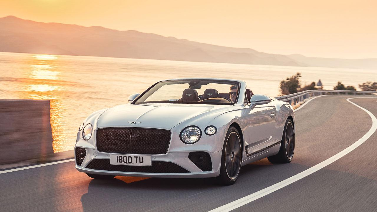 Bentley Continental GT Convertible W12 - am Meer