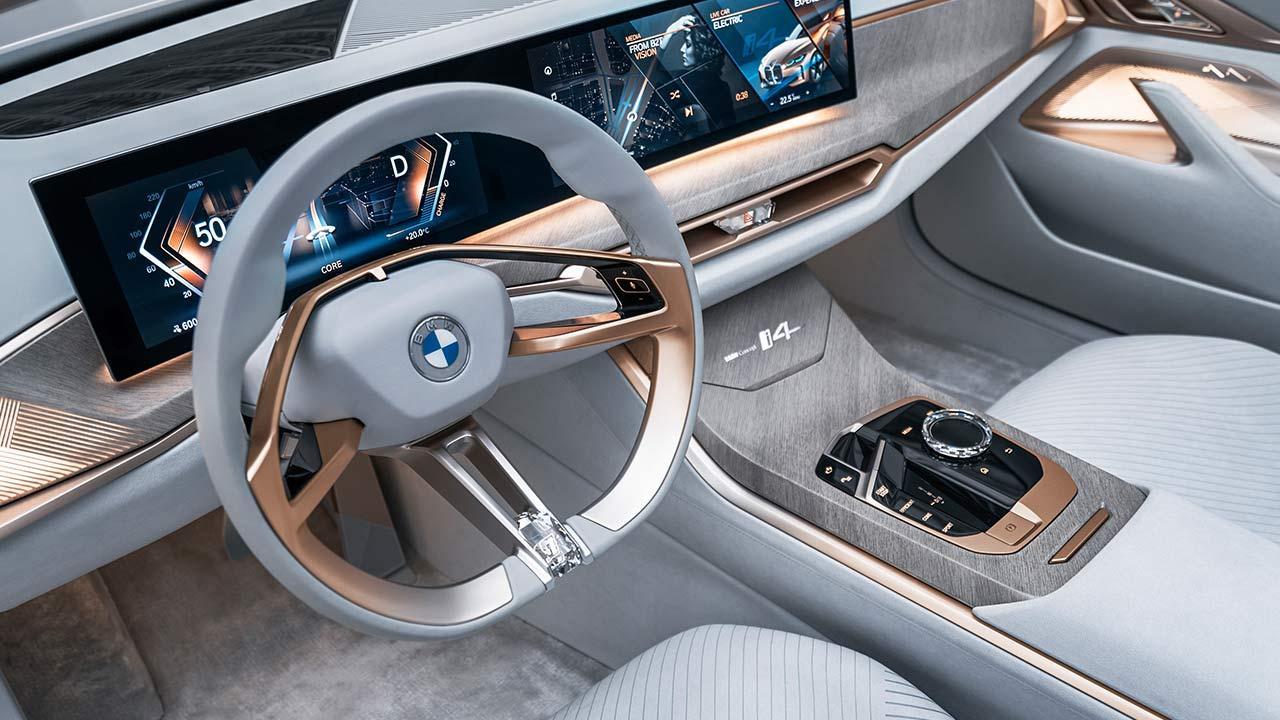 BMW Concept i4 - Lenkrad
