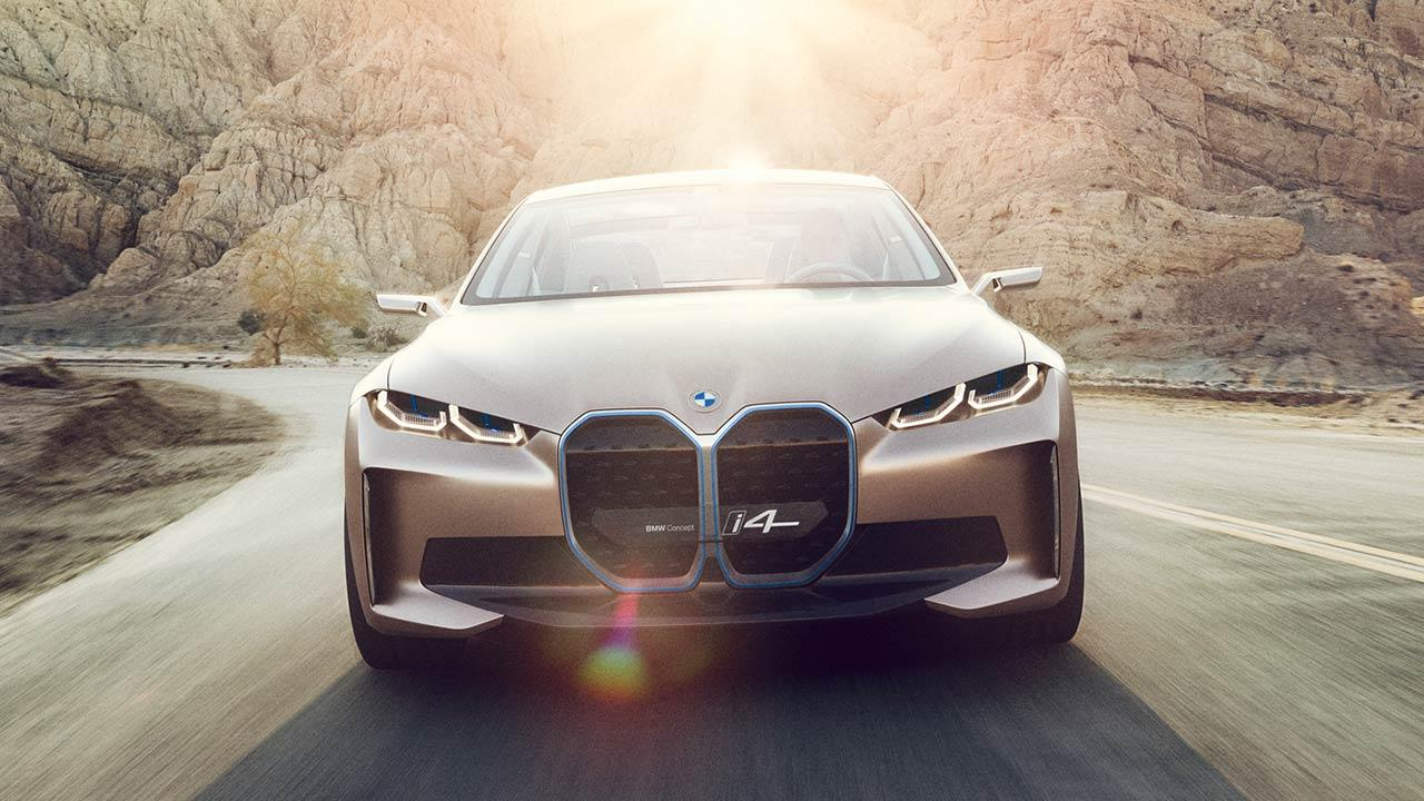 BMW Concept i4 - Front