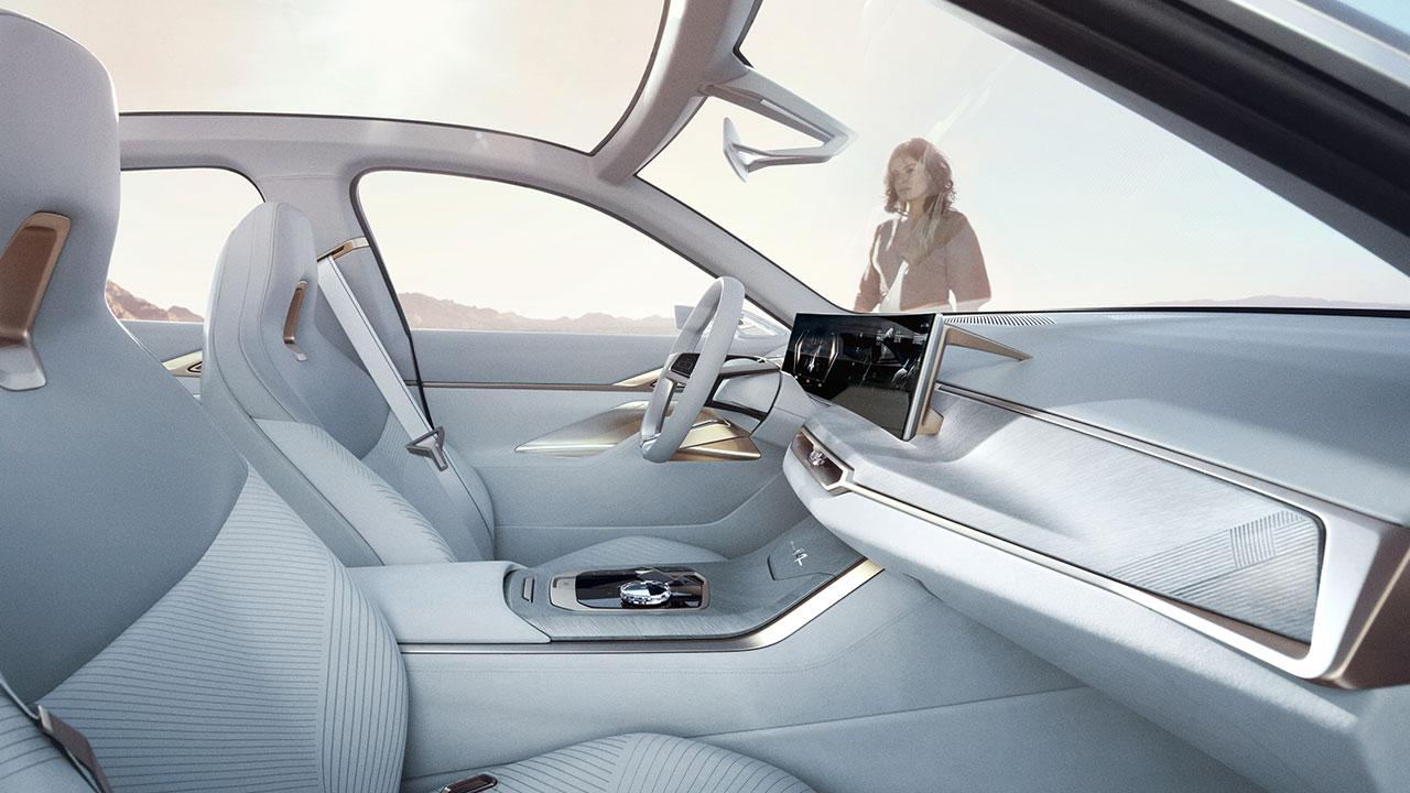 BMW Concept i4 - Cockpit