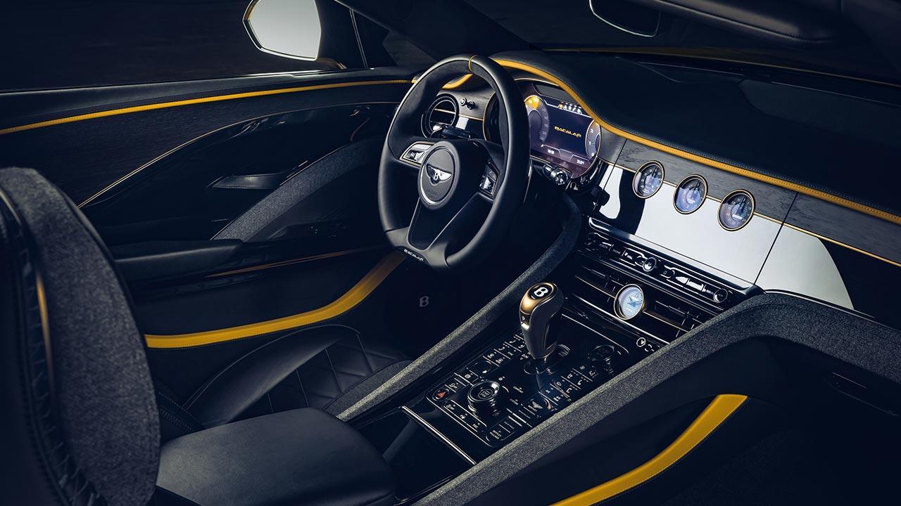 Bentley Bacalar Mulliner - Cockpit