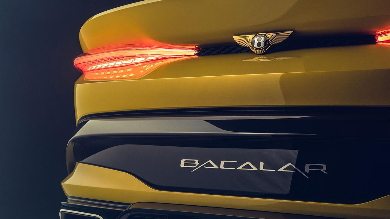 Bentley Bacalar Mulliner - Schriftzug