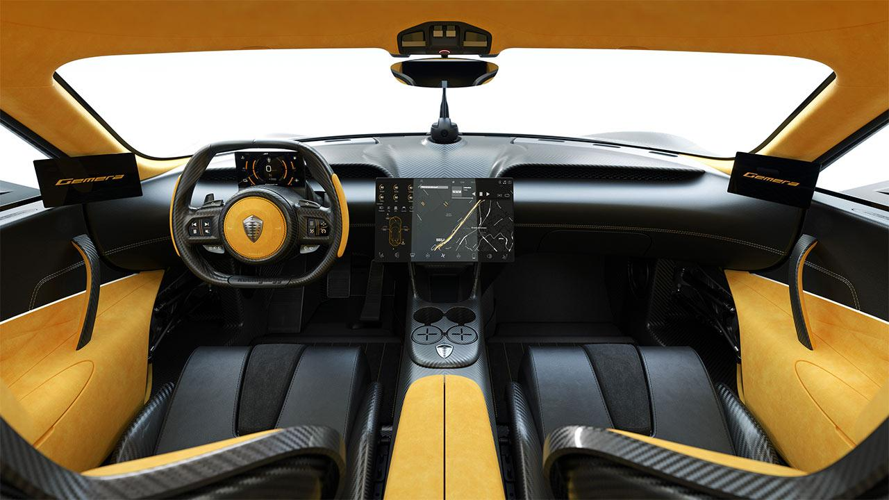 Koenigsegg Gemera 1700PS - Cockpit