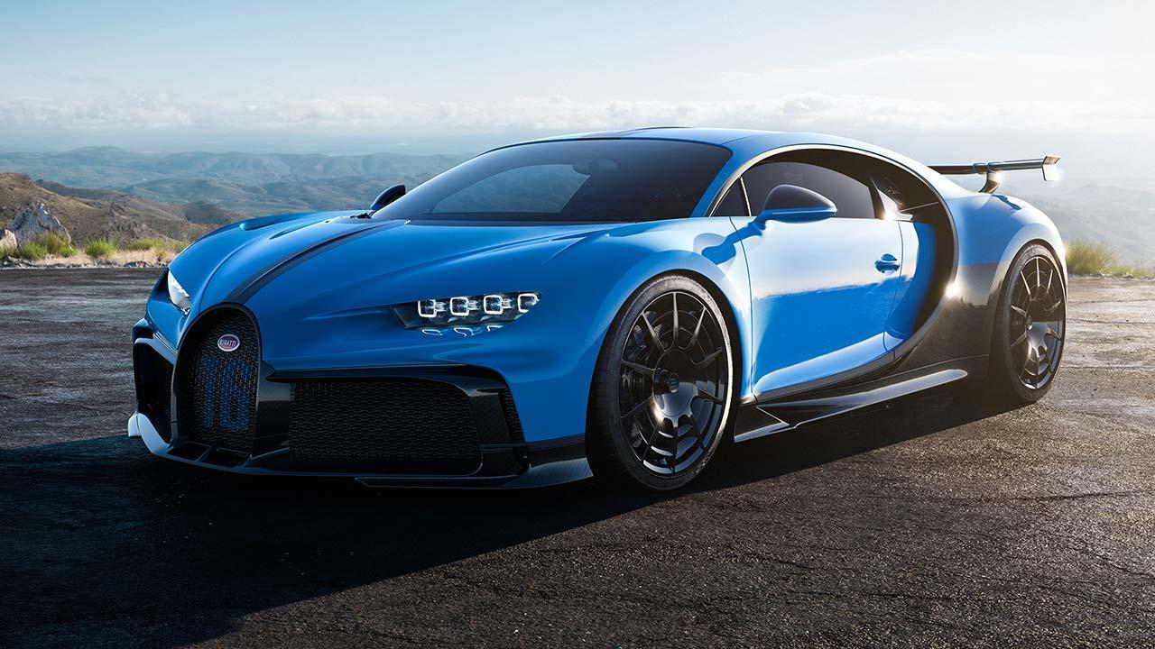 Bugatti Chiron Pur Sport - Frontansicht