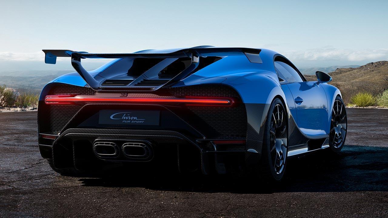 Bugatti Chiron Pur Sport - Heckansicht