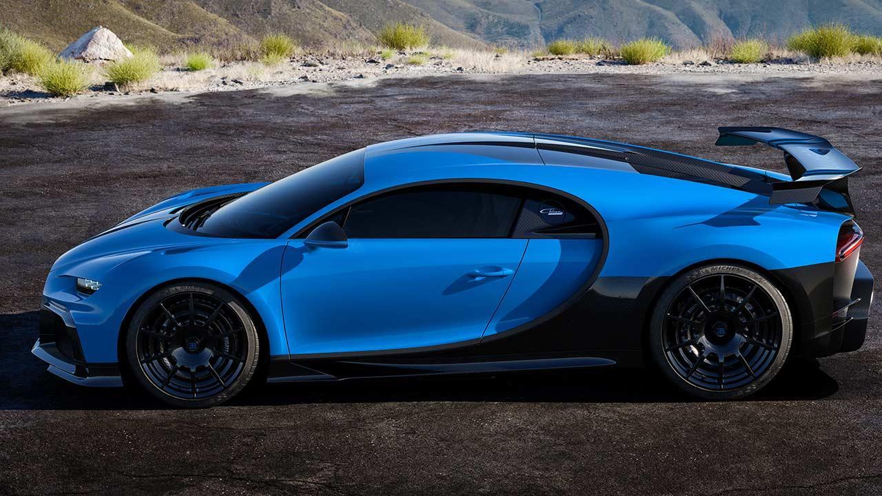 Bugatti Chiron Pur Sport - Seitenansicht