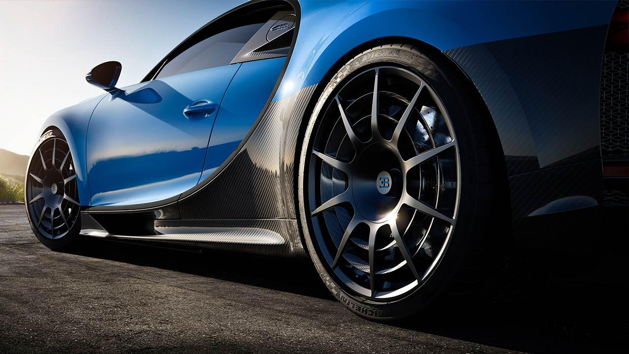 Bugatti Chiron Pur Sport - Felgen