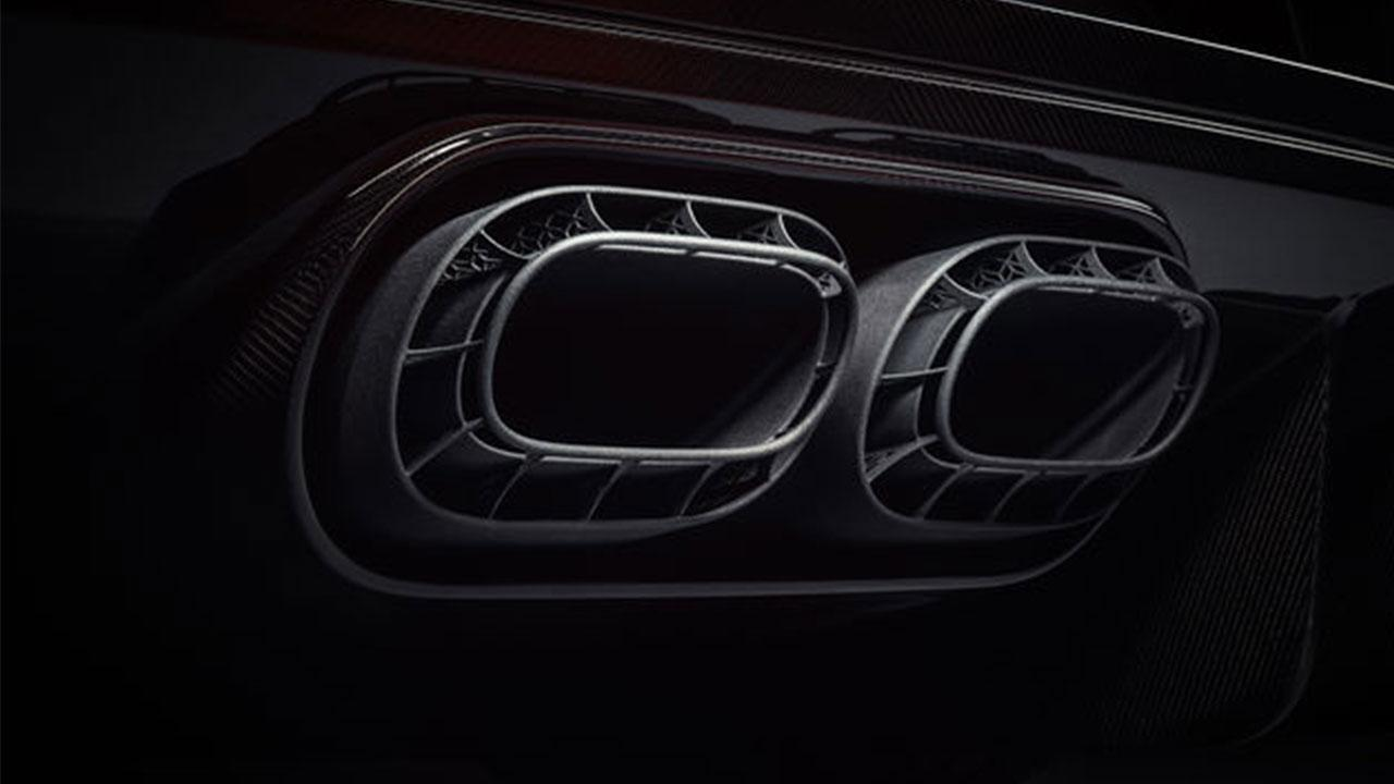 Bugatti Chiron Pur Sport - Auspuff
