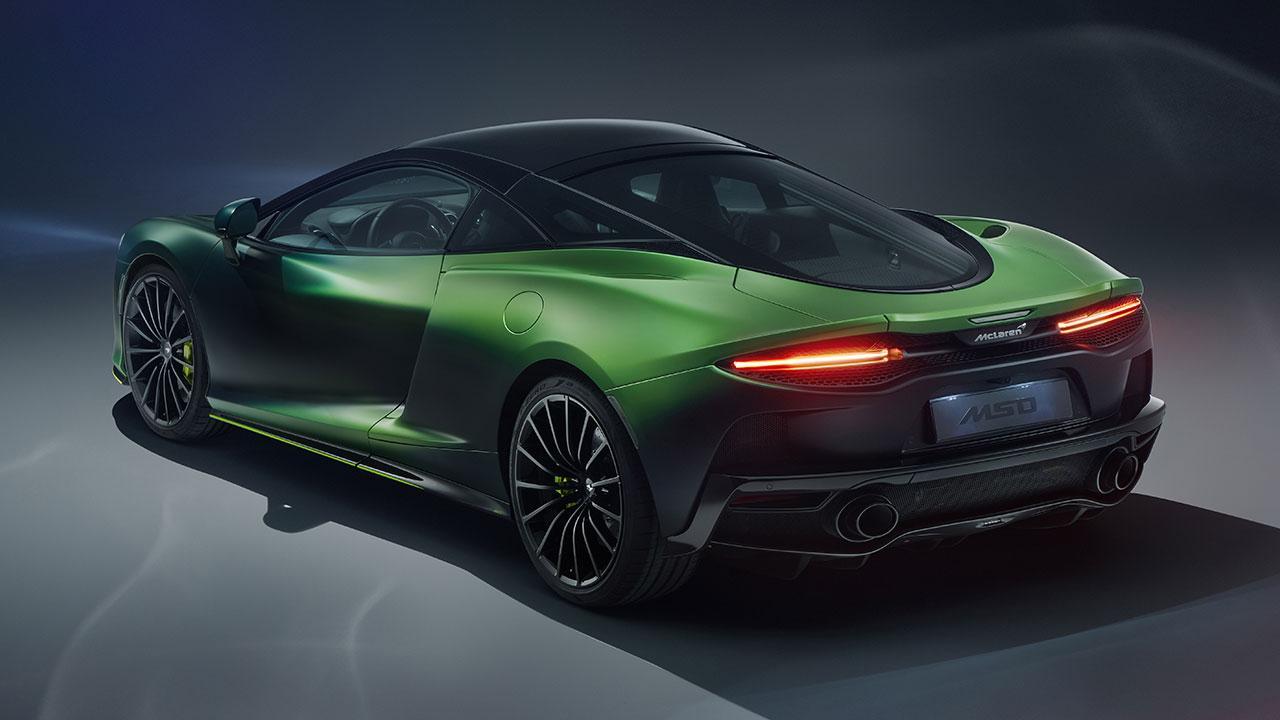 McLaren Thema GT von MSO - Heckansicht