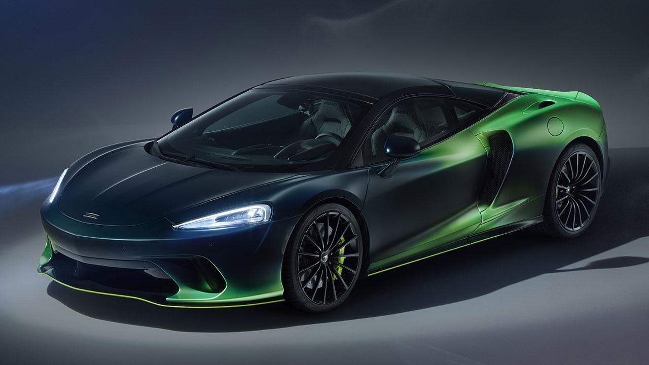McLaren Thema GT von MSO - Frontansicht
