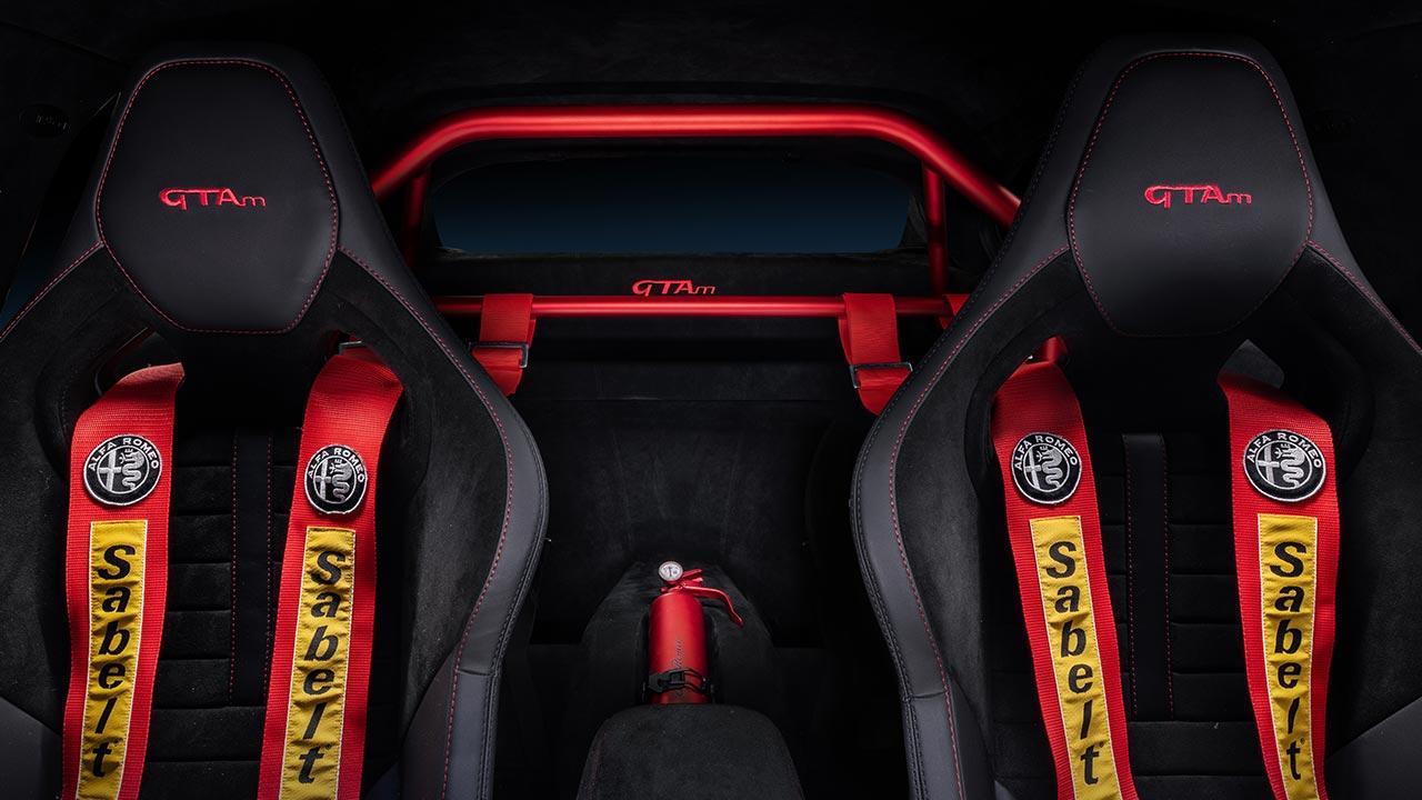 Alfa Romeo Giulia GTA - Sitze