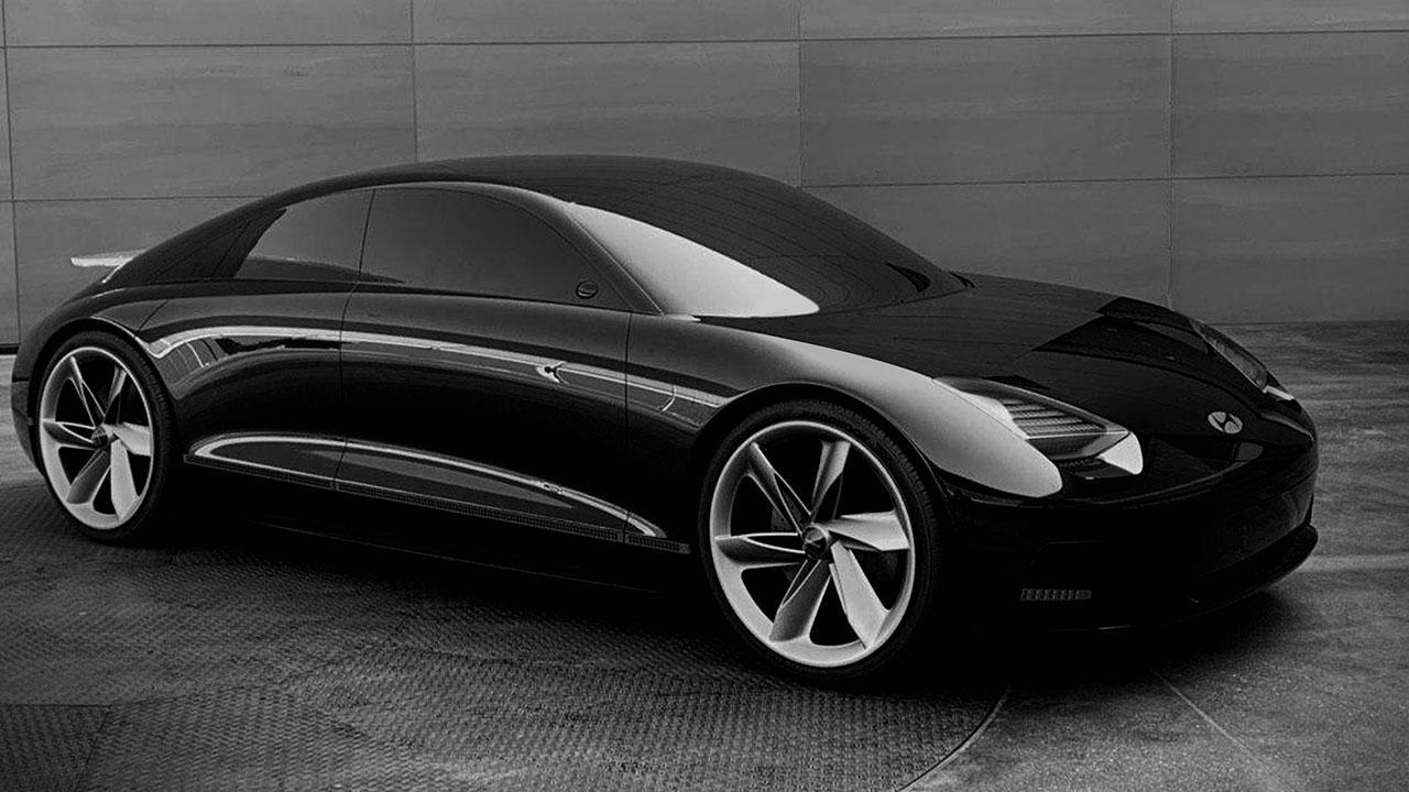 Hyundai Prophercy Concept EV - Seitenansicht