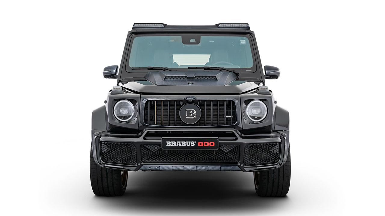 BRABUS 800 Black & Gold Edition - Frontansicht