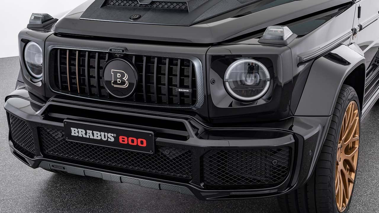 BRABUS 800 Black & Gold Edition - Front