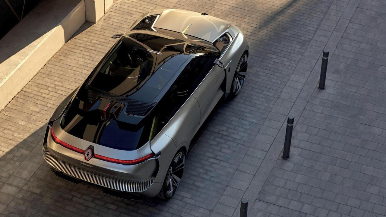 Renault MORPHOZ - Vogelperspektiven