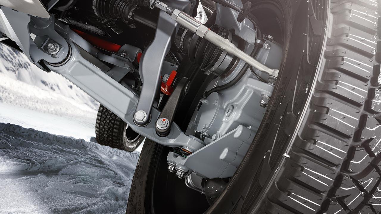 BRABUS 800 Adventure XLP - Radaufhängung